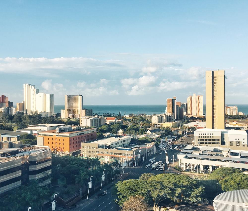 Durban from hilton
